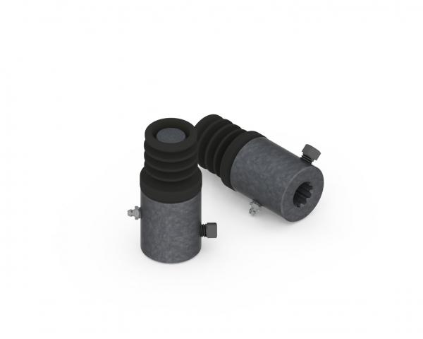 Cruceta Z9 - Movimiento a Bolilla de 9 Estrías